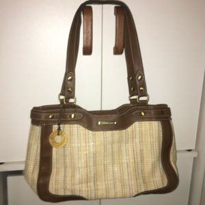 Caribbean Joe Woven Shoulder Bag